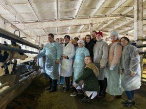 Выездные занятия студентов университета на базе Концерна «Детскосельский»
